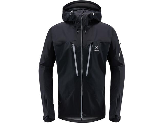 Haglöfs Spitz Jacket Herre true black